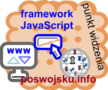 framework JavaScript poswojsku