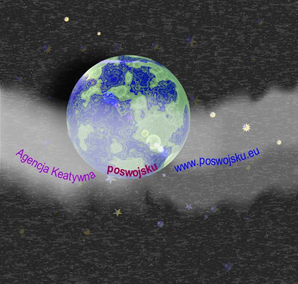 Corel Draw grafika planeta gwiazdy Agencja Kreatywna poswojsku