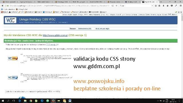 Responsywna strona z podmienianymi tłami przewijaniem tła CSS scroll